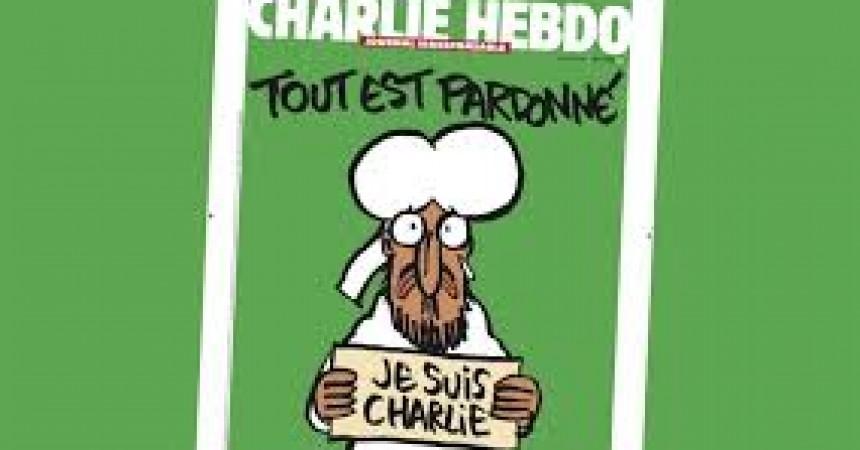Irish Media publishing Charlie Hebdo cover