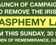 Launch of Campaign to Remove the Blasphemy Law